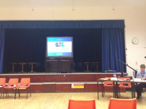 Pre-Western Wards CAT meeting, Victory Hall