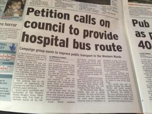 Last year, I stood with residents to fight against congestion by having more bus routes. What hope we have with careless developments cropping up everywhere?
